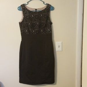 NWOT H&M Black Lace Dress 8